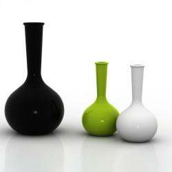 Chemistubes Aire Vase Vondom Noir 65
