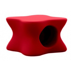 Tavolino da salotto morbido Mesa Vondom rosso