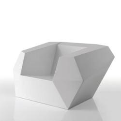 FAZ armchair Vondom white
