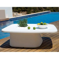 Low Table planter white Vondom MoMA