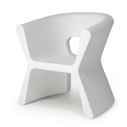 PAL furrow Chair Vondom white