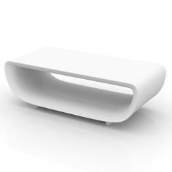 Table low Basic Bumbum Vondom white