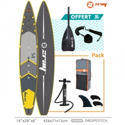 Stand Up Paddle Zray SUP R2 Longueur 426 cm