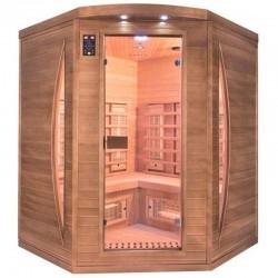 Sauna Infrared Spectra 3 Places angular Quartz and Magnesium