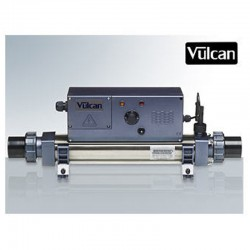 Vulcan heater analog titanium Mono 15kW pool above ground and buried