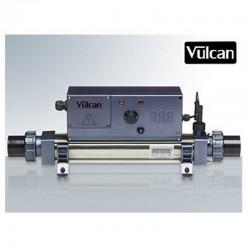 Vulcan heater analog titanium 9kW sort above ground pool and buried