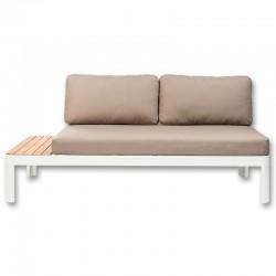 Garden KosyForm Design white aluminum Lounge Sofa couch