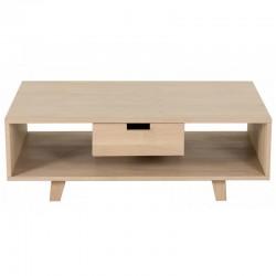 Table rectangular oak with drawer Puper KosyForm bass