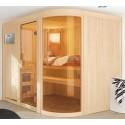 Sauna Vapeur traditionnel Finlandais 5 places Sphérium Prestige - VerySpas Selects