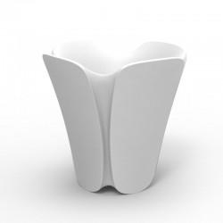 Pot planter design Pezzettina Vondom white 50x50xH85