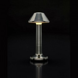 Luminaire de Table Imagilights Led Sans Fil Collection Moments Cadet Grey Cône