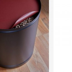 Rangement à Granulés Palass Rouge Givré Dixneuf Design