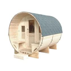 Gaïa Luna 6-seater outdoor sauna Holl's