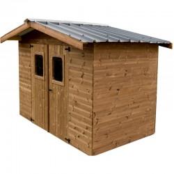 Хабрита Твердый деревянный сад жилья 7,42 кв.м со стальной крышей