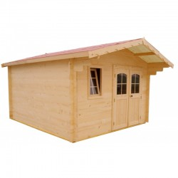 Habrita Solid Wood Garden Shelter 16 sqm and 28mm planks