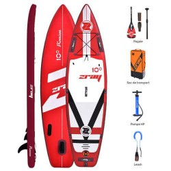 Inflatable Paddle Zray Fury 10' - 305 x 81 cm