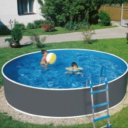 Round Pool Azuro PoolMarina Luxury Freestanding or Buried 5.5x1.20