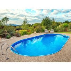 Oval Pool Ibiza Luxe