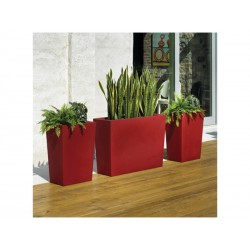 Pots of outside Gratiano 50 red BaySeasons Design