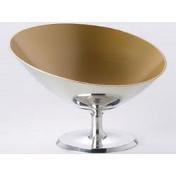 Mini Symbol pewter polished and Interior gold OA1710