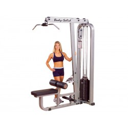 Unit draw back and seated rower SLM300G Pro Club line Body Solid