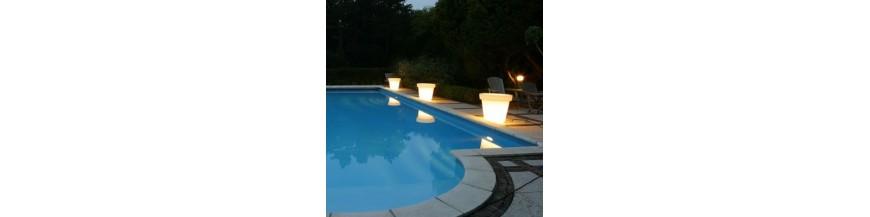 Iluminación, lámparas y objetos a la luz